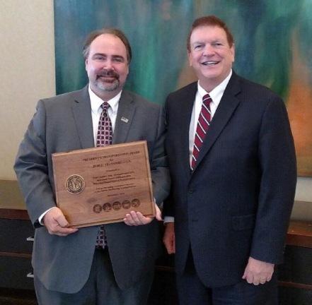 Received AASHTO's President's Award