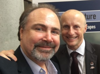 With Andy Byford, CEO of TTC