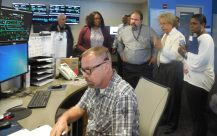 In MTA Operations Control Center