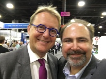 With Clement Michel, CEO of Keolis NA