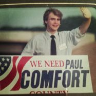 As a candidate for County Commissioner when I was 21