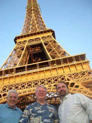 At Eiffel Tower