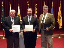 Graduating from Academy of Excellence in Local Government