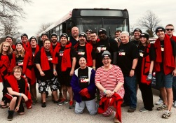 with our MTA Team at the Polar Bear Plunge