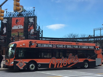 MTA Orioles Bus