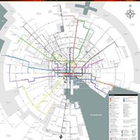 Baltimore Link Official Polar Map - first in the world