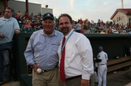 With Baseball Great Brooks Robinson