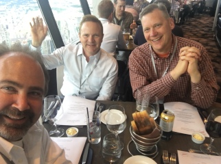 Dinner with Volaris CEO Mark Miller and Trapeze President Kevin Bade