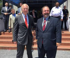 with MD Comptroller Peter Franchot at our Metro HQ