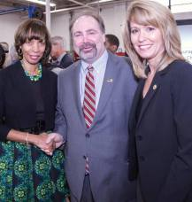 With Baltimore City Mayor Catherine Pugh and Secretary of MD DLLR Kelly Schultz