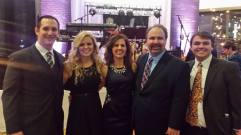 With my wife and kids at Governor Hogan's Inaugural Ball